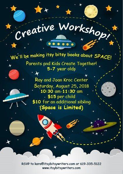 Creative Workshop August 25